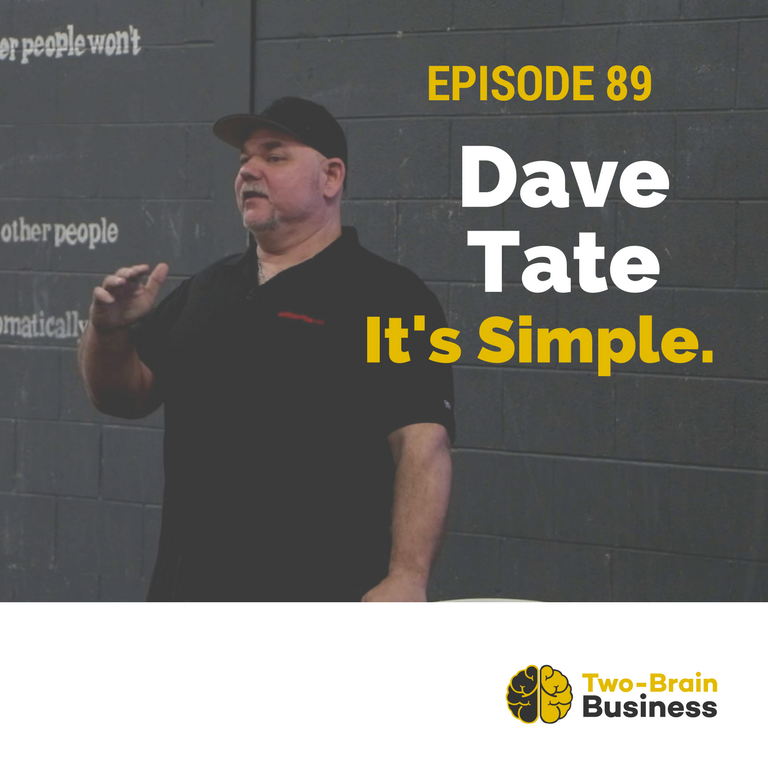Episode 89: It's Simple, with Dave Tate