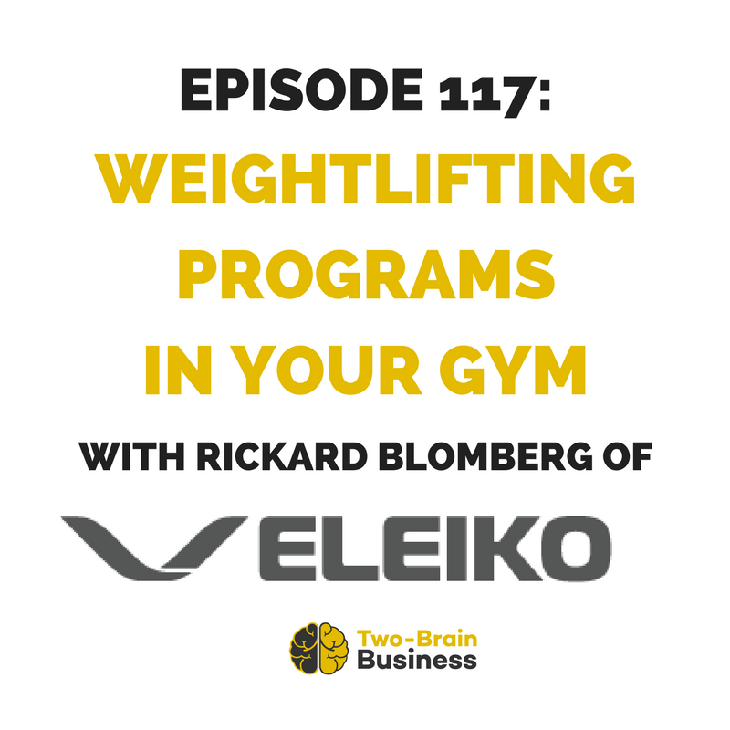 Episode 117: The Eleiko Story, with Rickard Blomberg