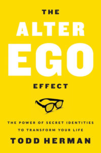 """The cover of the book """"The Alter Ego Effect"""" by Todd Herman."""